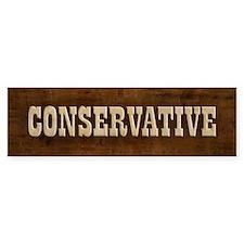Conservative Bumper Bumper Sticker