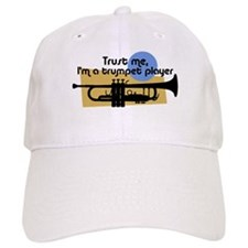 Trumpet Player Baseball Cap