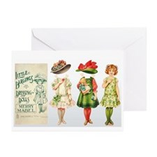 MERRY MABEL Paper Doll Greeting Cards (Pk of 10)