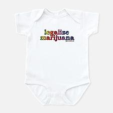Legalize Marijuana Infant Bodysuit