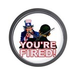 You're Fired! Wall Clock