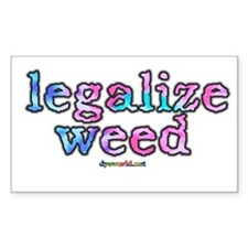 Legalize Weed Decal