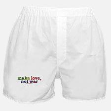 Make Love, Not War Boxer Shorts