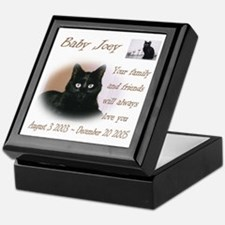 Custom personalized Pet Memorial Keepsake Box