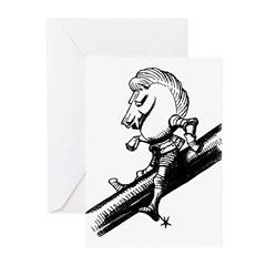 White Knight Greeting Cards (Pk of 10)