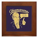 Biden's Big Deal Framed Tile