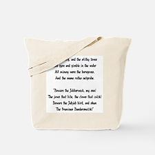 Jabberwocky Tote Bag