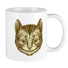 Cheshire cat Sepia Mug