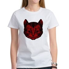 Cheshire Cat Red Fill Tee