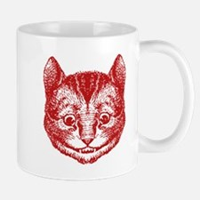 Cheshire Cat Red Mug