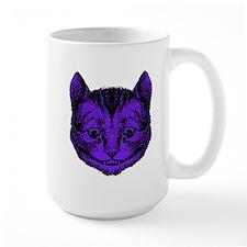 Cheshire Cat Purple Fill Mug