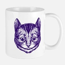 Cheshire Cat Purple Mug
