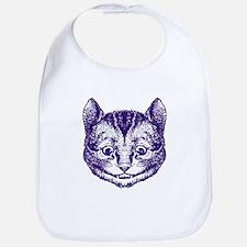 Cheshire Cat Purple Bib