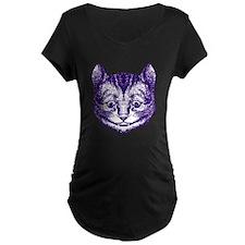 Cheshire Cat Purple T-Shirt