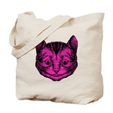 Cheshire Cat Pink Fill Tote Bag