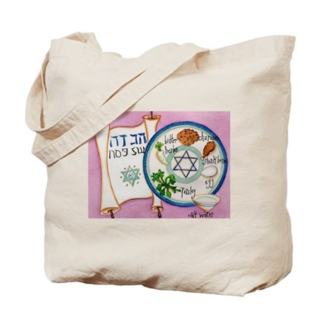 Passover Plate Tote Bag