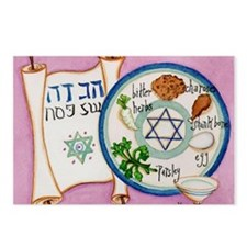 Passover Plate Postcards (Package of 8)