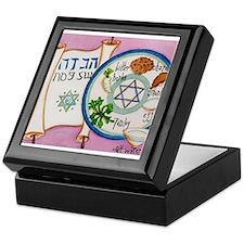 Passover Plate Keepsake Box