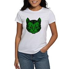 Cheshire Cat Green Fill Tee