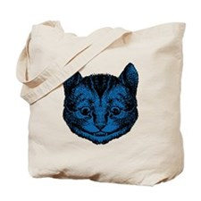 Cheshire Cat Blue Fill Tote Bag