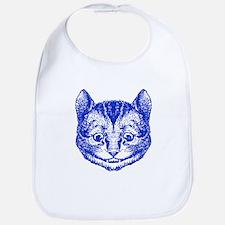Cheshire Cat Blue Bib
