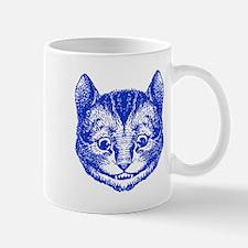 Cheshire Cat Blue Mug