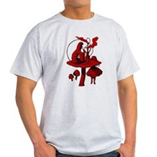 Alice and Caterpillar Red Fil T-Shirt