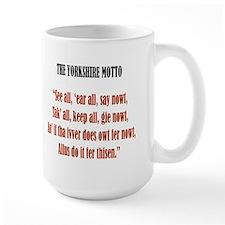 Yorkshire Rose & Motto Mug