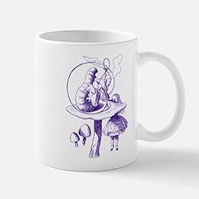 Alice and Caterpillar Purple Mug
