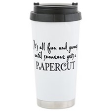 It's all fun and games until Travel Mug