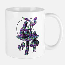 Alice and Caterpillar Psychad Mug
