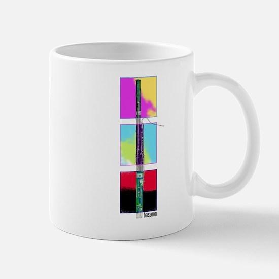 Colorful Bassoon Mug