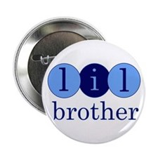 """Lil Brother (Little Brother C 2.25"""" Button"""