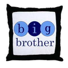 Big Brother (Circles) Throw Pillow