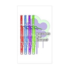 Bassoons has flavors? Decal
