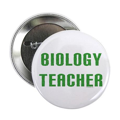 Biology Teacher Green Button