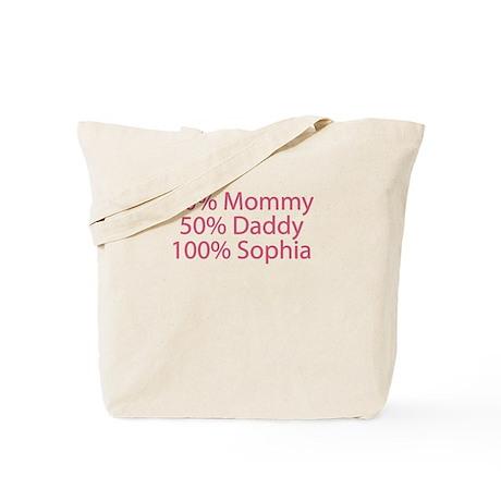100% Sophia Tote Bag