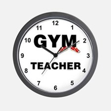 Gym Teacher Sneakers Wall Clock