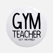 Gym Teacher Ornament (Round)