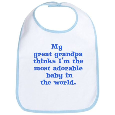 Great grandpa loves me Bib