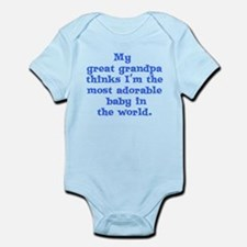Great grandpa loves me Infant Bodysuit