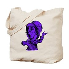 Mad Hatter Purple Fill Tote Bag