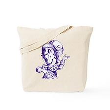 Mad Hatter Purple Tote Bag