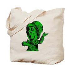 Mad Hatter Green Fill Tote Bag
