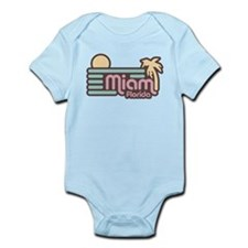 Miami Florida Infant Bodysuit