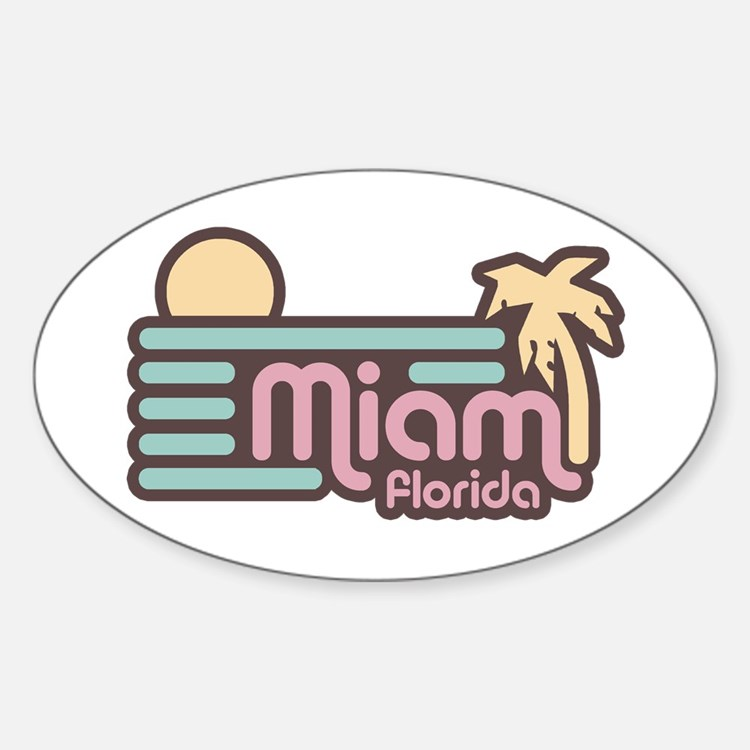 Miami Florida Decal
