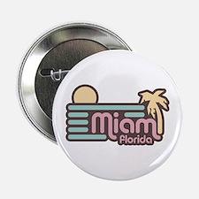 "Miami Florida 2.25"" Button"