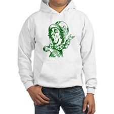 Mad Hatter Green Hoodie