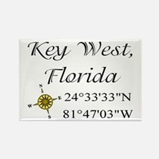 Geocaching Key West, Florida Rectangle Magnet (10