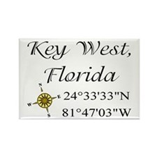 Geocaching Key West, Florida Rectangle Magnet